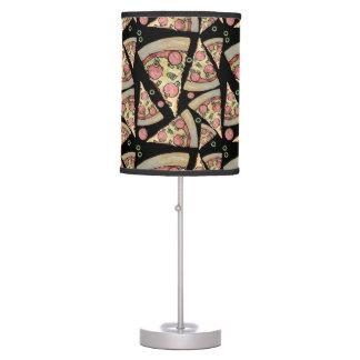 Fiesta de lujo de la pizza lámpara de escritorio