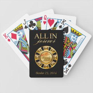 Fiesta de lujo de Las Vegas Cartas De Juego