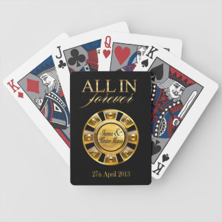 Fiesta de lujo de Sheena y de Kester Las Vegas Baraja Cartas De Poker