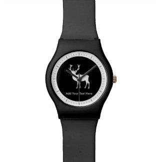 Fiesta de macho - dibujo elegante de un macho relojes de pulsera