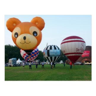 Fiesta de Modelballoon Tarjeta Postal