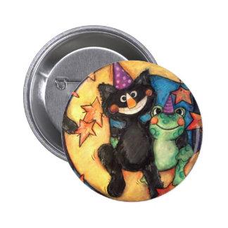 Fiesta de Moonbathing Pin Redondo 5 Cm
