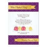 Fiesta de Navidad de la púrpura de la cinta del Anuncios Personalizados