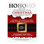 Fiesta de Navidad del juego de Santa Invitaciones Personalizada