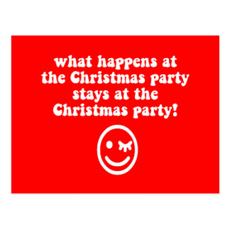 Fiesta de Navidad divertida Postales