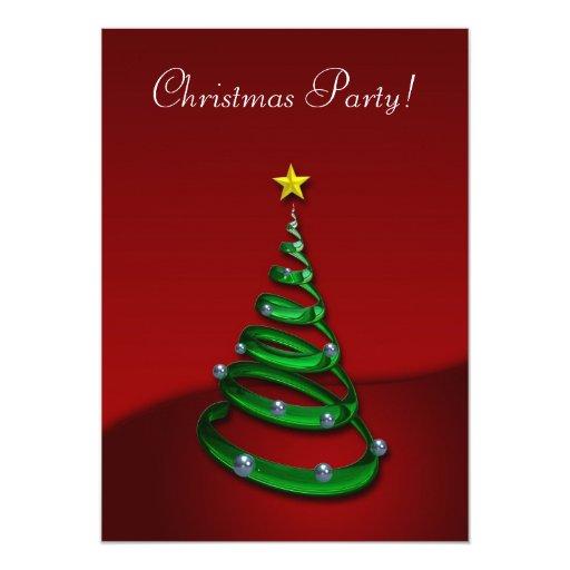 Fiesta de Navidad - invitación