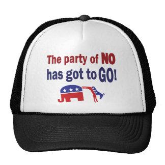 Fiesta de ningún gorras