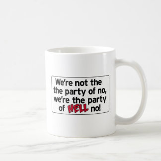 ¡Fiesta de no! drinkware Taza De Café