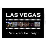 ¡Fiesta de Noche Vieja de Las Vegas! Tarjeta