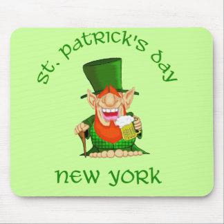 Fiesta de Nueva York Patty O del ~ del día de St P Tapete De Raton