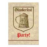 Fiesta de Oktoberfest Invitación 12,7 X 17,8 Cm