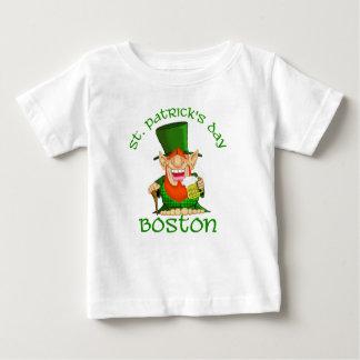 Fiesta de Patty O del ~ de Boston del día del St Playera Para Bebé