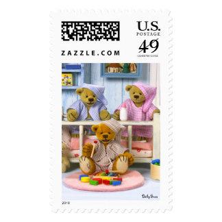 Fiesta de pijamas pequeña de los osos sellos