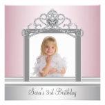 Fiesta de princesa Tiara Photo princesa cumpleaños Comunicados Personales