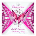 Fiesta de Quinceanera de la tiara rosada bonita de Comunicado Personal