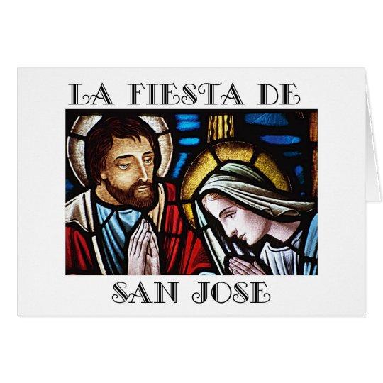 Fiesta de San Jose- Feast of St. Joseph Card