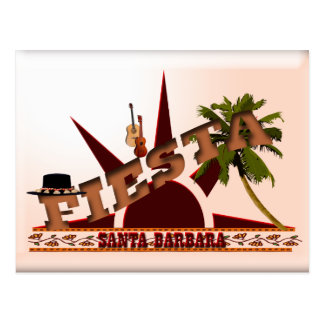 Fiesta de Santa Barbara Tarjetas Postales