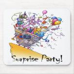 ¡Fiesta de sorpresa! Alfombrilla De Ratones