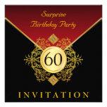 Fiesta de sorpresa del cumpleaños del rojo real ne
