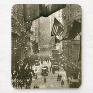 Fiesta de Wall Street extremo de WW1 1918 Alfombrilla De Ratón