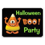 Fiesta del abucheo de Halloween de las pastillas d