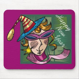 Fiesta del Año Nuevo en curso Tapete De Ratones