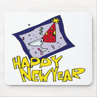 Fiesta del Año Nuevo Alfombrilla De Ratones
