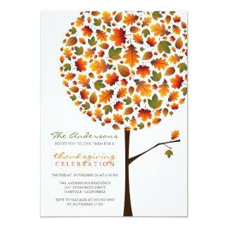 Fiesta del árbol del estallido de las hojas de la anuncios