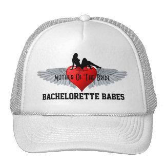 Fiesta del bachelorette del estilo del tatuaje gorras
