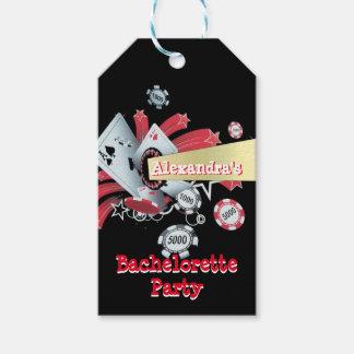 Fiesta del bachelorette del microprocesador del etiquetas para regalos