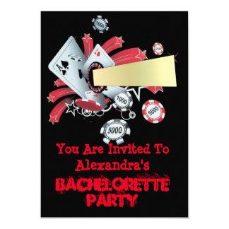 """Fiesta del bachelorette del microprocesador del invitación 5"""" x 7"""""""