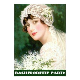 fiesta del bachelorette, ducha nupcial, fiesta de invitación