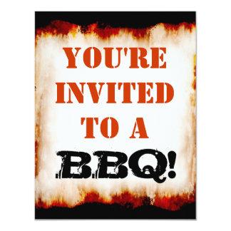 ¡Fiesta del Bbq! Invitación