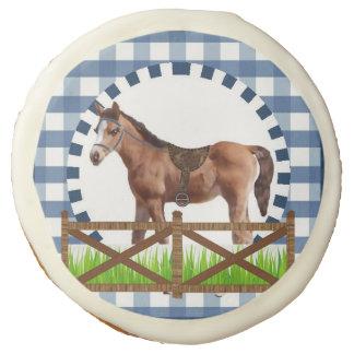 Fiesta del caballo por los estudios de Bella Bella