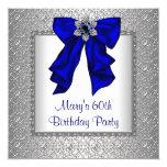 Fiesta del cumpleaños de la mujer del azul real anuncios