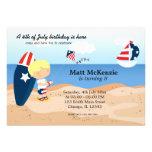 Fiesta del Día de la Independencia del cumpleaños  Invitacion Personalizada