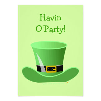 Fiesta del día de St Patrick divertido del gorra Comunicado Personal
