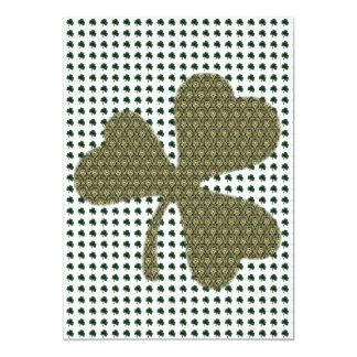 """Fiesta del día de St Patrick Invitación 5"""" X 7"""""""