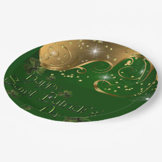Fiesta del día de St Patrick, restaurante o placas Plato De Papel 22,86 Cm