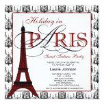 Fiesta del dulce dieciséis de París Invitacion Personalizada