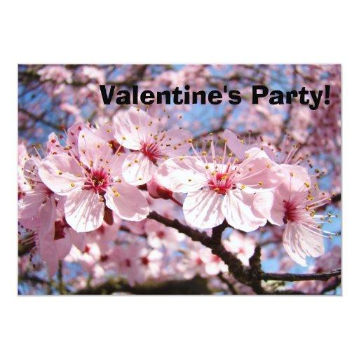 """¡Fiesta del el día de San Valentín de las Invitación 5"""" X 7"""""""