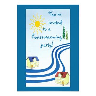 Fiesta del estreno de una casa invitación 12,7 x 17,8 cm