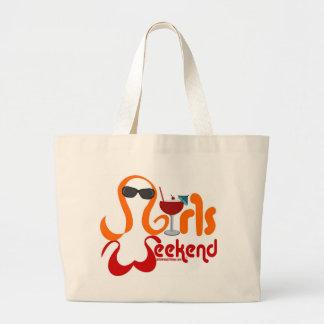 Fiesta del fin de semana de los chicas bolsa
