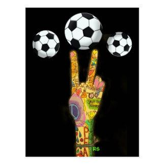 ¡Fiesta del fútbol! por SRF Tarjeta Postal