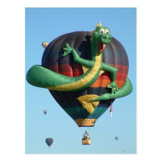 Fiesta del globo postales