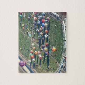 Fiesta del globo rompecabezas con fotos