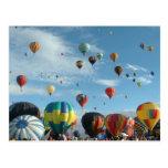 Fiesta del globo tarjetas postales