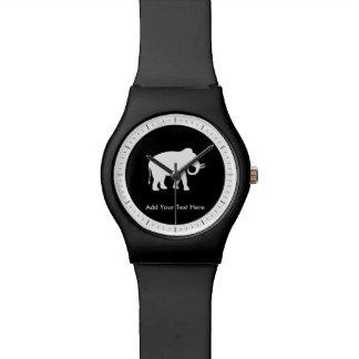 Fiesta del intercambio del regalo del elefante relojes de mano