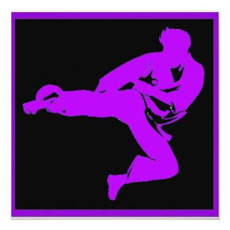 Fiesta del karate comunicados personalizados