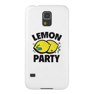 Fiesta del limón carcasa para galaxy s5